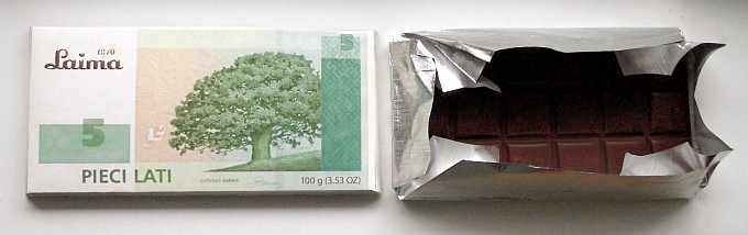 Laima - 5 Lats chocolate