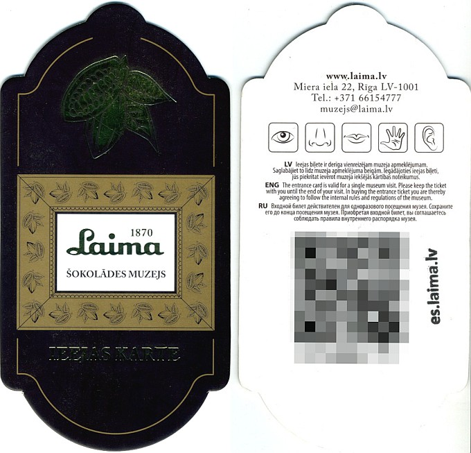 Laima Ticket Flyer.