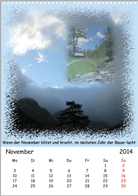 November in Lungau
