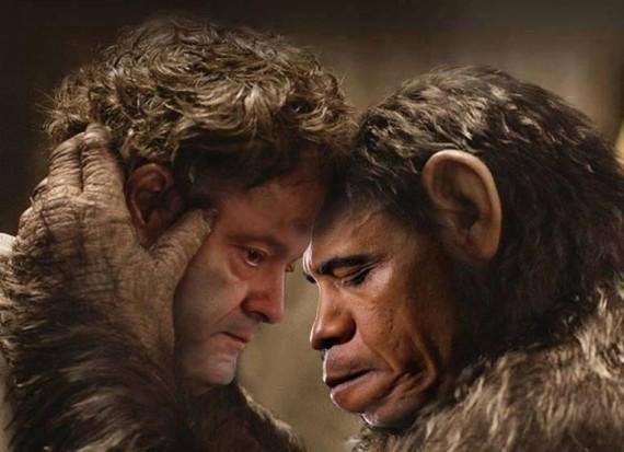 Poroshenko + Obama