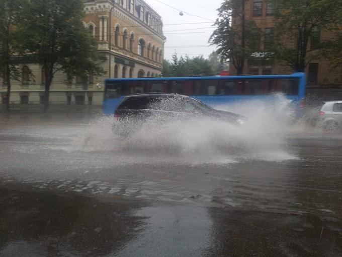 Riga Raining