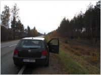 VW Golf IV in Accident