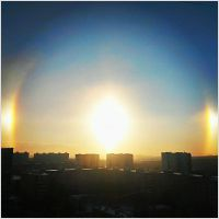 Halo in Moscow, 19.01.14