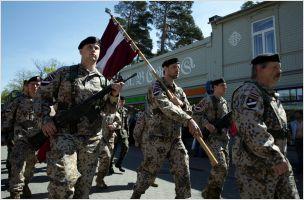 Jurmala - 2014, Season opening: LV Army