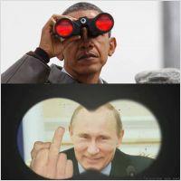 Obama checks Putin