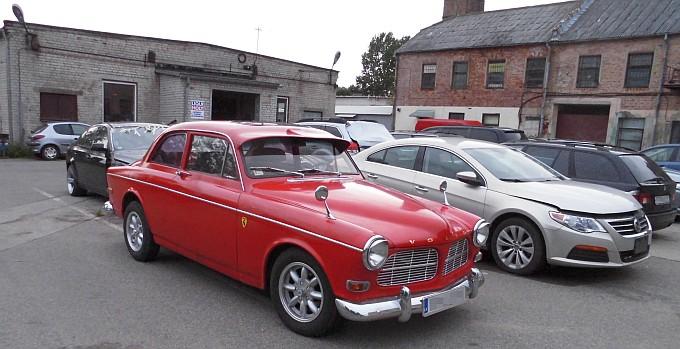 Rare Volvo in Riga Boondocks.