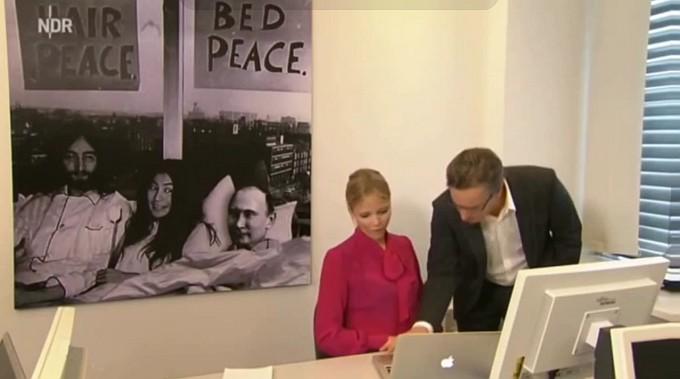 NDR Extra3, Zee Germans about Ukraine, now starring Yoko Ono, John Lennon, Vladimir Putin