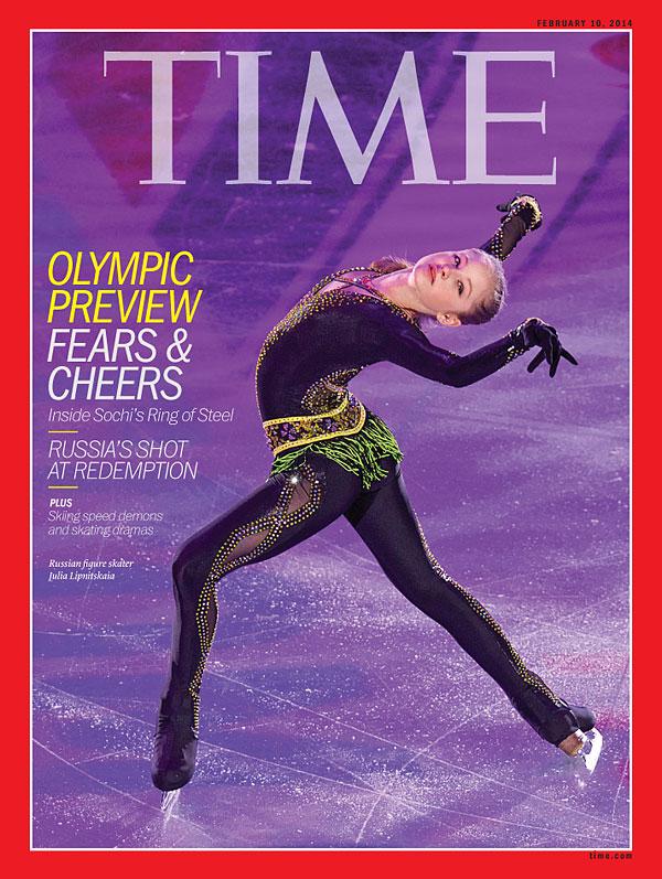 Ms. Yulia Lipnitskaya at Time Magazine Cover