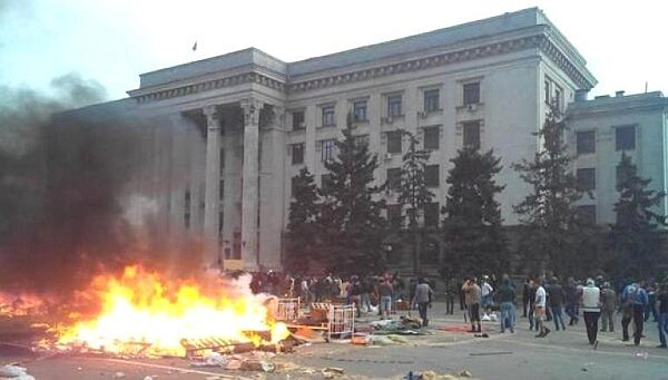 Trade Unions House, Odessa, May 2nd 2014