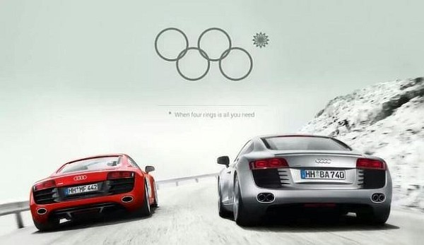 Audi: When Four Rings is all you need