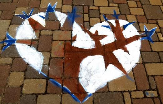 Hearts - Children Paintins