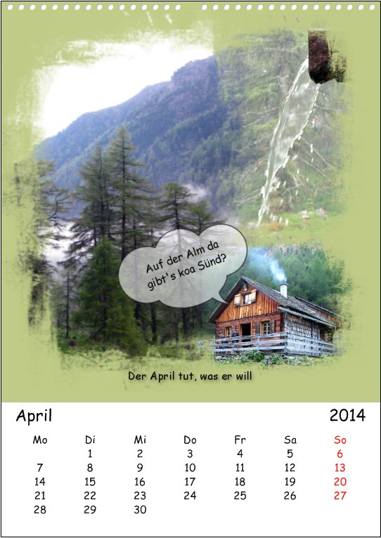 Vacation in Lungau, April