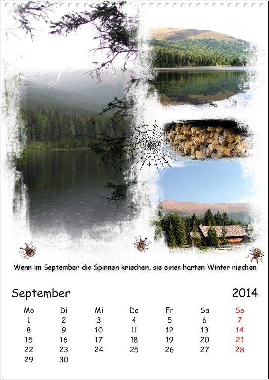 Vacation in Lungau, September
