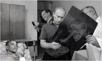 Putin checks Obama