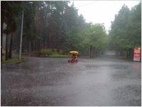 Rain in Riga, July 29th 2014