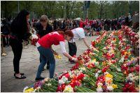 May 9th, 2014, Riga. Full of flowers