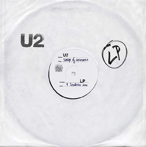 U2, Songs of Innocence, iTunes LP cover