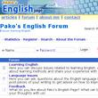 Pako's English